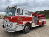 1974 Mack Pumper Fire Truck