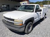 2002 Chevrolet 2500 Pickup Truck