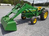 John Deere 1530 2 WD Tractor w/Front Loader