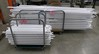 Aluminum Tubes, Approx. 3ft.  - 8ft. L, Items on 2 Carts