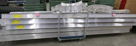Cable Trays: B-Line Cable Tubing and Raceways, Items on Cart