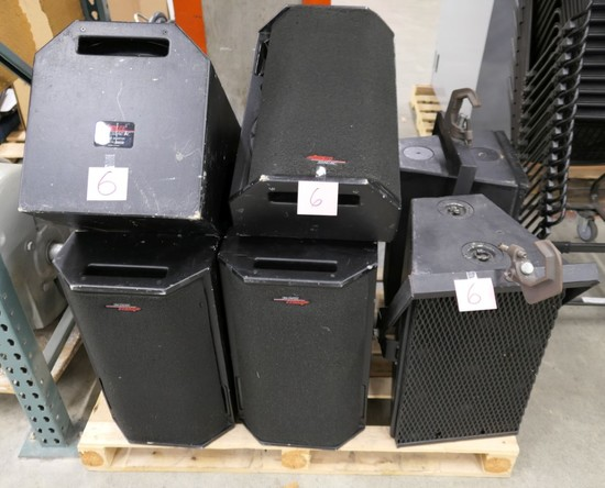 Stage Monitors: Apogee AE-4M, Meyer Y-1PB, 8 Items on Pallet