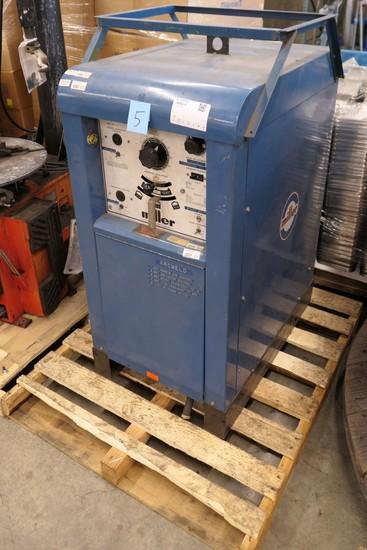 Arc Welder: Miller 330A/BP AC/DC Gas Tungsten