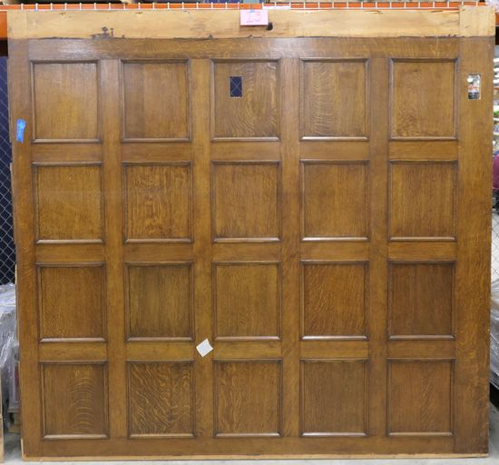 LOT 13: Large Antique Wall Paneling, 1 piece.