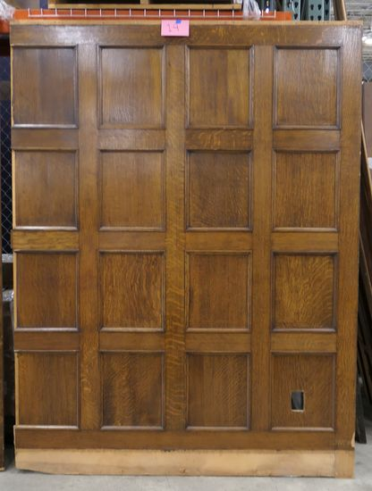 LOT 14: Large Antique Wall Paneling: 1 piece.