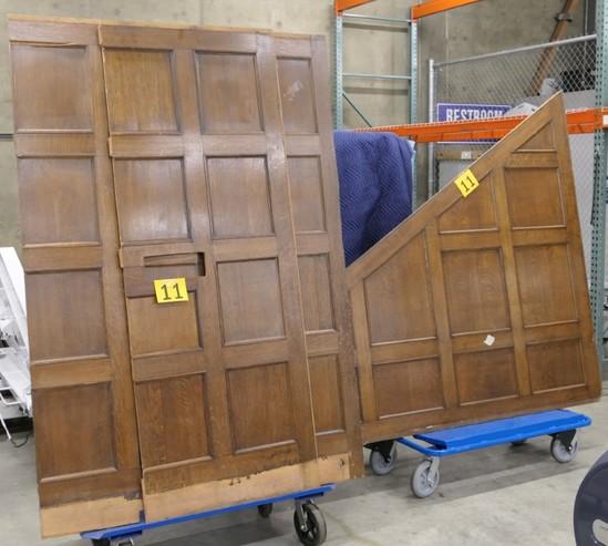 Antique Wood Panels: Qty 4