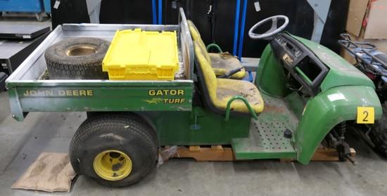Utility Vehicle: 2003 John Deere Gator Turf