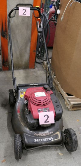 Commercial Mower: Honda HRC2162HXA, S/N MAKA-1016292