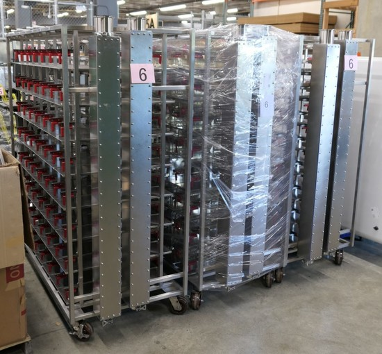 Stainless Animal Cage System: Allentown BCU-4000XXX, 3 Racks