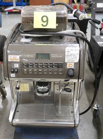 Espresso Machine: LaCimbali S 39 Barsystem, Item on Dolly