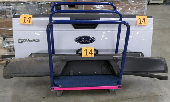 Tailgate, with Bumpers: Ford F150 2015-2019, 3 Items on Cart