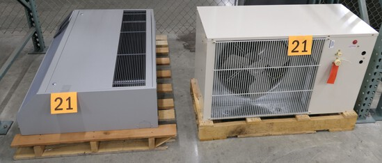 Cooling Units: 2 Items on Pallets