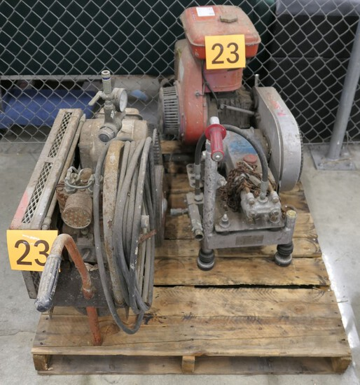 Pressure Washers: 2 Items on Pallet