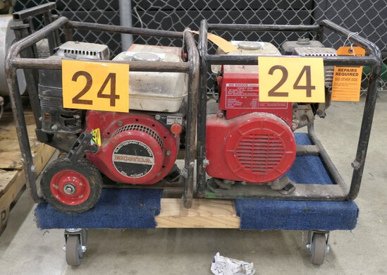 Generators: Honda EG2200 (2), 2 Items on Dolly