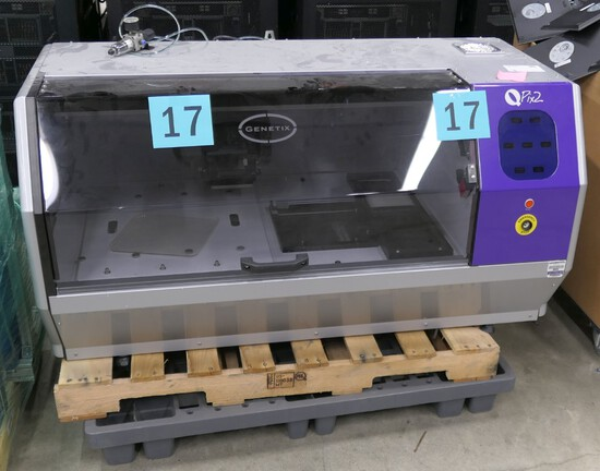 Automatic Colony Picker and Imager: Genetix QPix2, 2 Items on Pallet