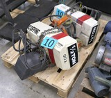 Hoists: Coffing 1/2 Ton, 2 Items on Pallet
