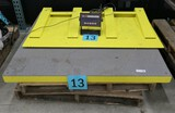 Floor Pallet Scale; IQ plus 310A, with Ramp, 48