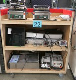 Commercial Kitchen Equipment: 18 Items on Cart