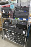 Misc. Audio Visual Equipment: Items on Cart