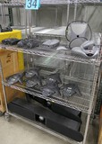 Conferencing Equipment: Polycom and Vaddio, Items on Cart