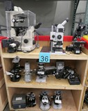 Microscopes and Misc. Optical Equipment: Items on Cart
