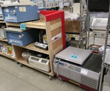 Centrifuges: Items on Cart and Dolly