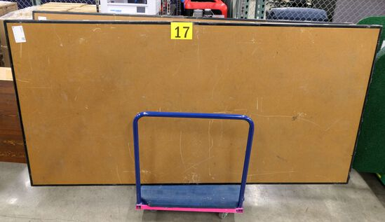 "Folding Stages: 96""x48""x16"", 2 Items on Cart"