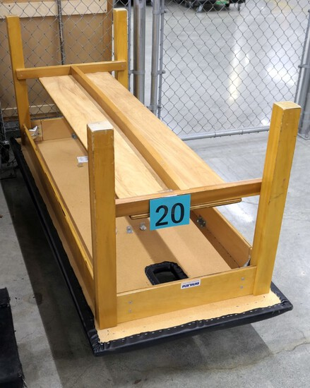 """Treatment Table: Bailey Manufacturing, 78""""x31""""x 30"""", Item on Dolly"""