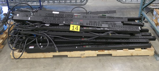 Power Distribution Units Group 1: Rack Type, APC. Items on Pallet.