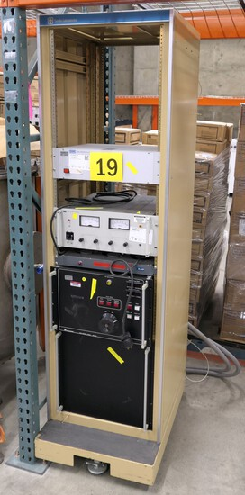 Electronic Equipment Rack: Power Supplies and Others.