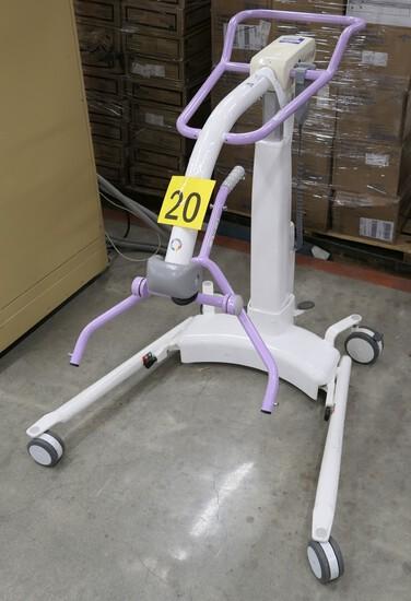 Patient Lift: Arjo Trixie, Item with Wheels.
