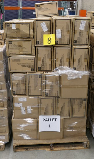 Healthcare Consumables Group H: Medline Disposable Scrub Pants. Items on Pallet.
