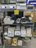 Misc. Lab Equipment Group B: Centrifuges and Others, Items on Cart