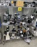 Misc. Lab Equipment Group F: Microscopes and Peripherals, Items on Cart.