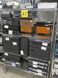 Misc. Audio/Visual Equipment Group F: Items on Cart.