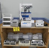 Misc. Lab Equipment Group i: Fraction Collector & Others. Items on Cart.