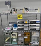 Misc. Lab Equipment Group J: Scales & Balances: Items on Cart.
