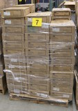 Healthcare Consumables Group G: Medline Disposable Scrub Shirts.  Items on Pallet.