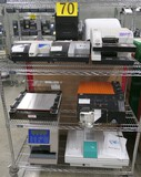 Misc. Lab Equipment Group T: Items on Cart.