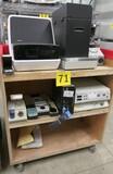 Misc. Lab Equipment Group U: Items on Cart.