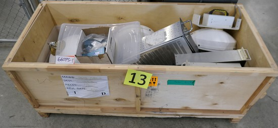 Antennas: RadioWaves Parabolic and Others, Items in Crate