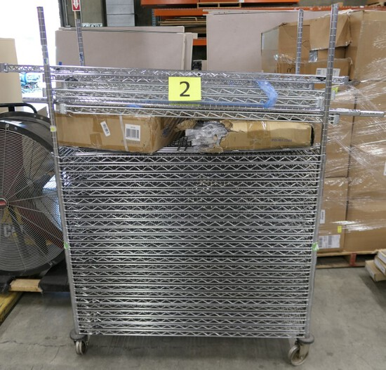 """Wire Shelving: Shelves 24""""x48"""", Basket Dividers, & Other"""