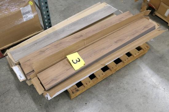 "Misc. Vinyl Plank Flooring: Shaw 6""x48"", 11 Boxes on Pallet"