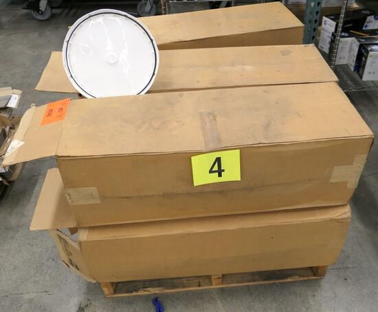 Pail Lids, 7 Boxes on Pallet