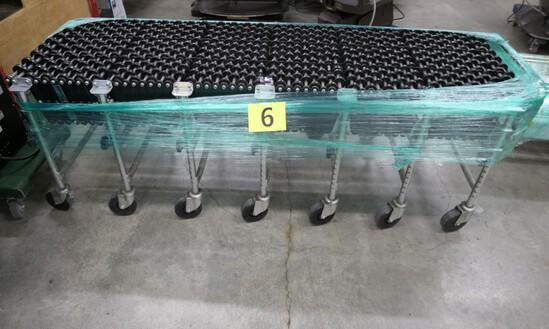 Gravity Skate Wheel Conveyor: NestaFlex 275