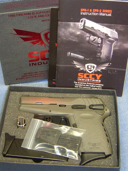 SCCY CPX1 9MM PISTOL TTSG SILVER OVER SNIPER GRAY