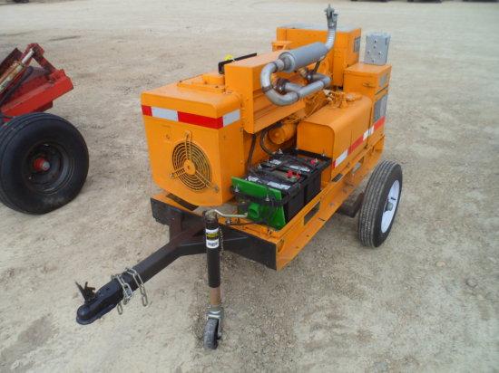 Onan Diesel Generator , 14 KW, Trailer Model