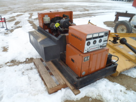 36 KW LP Stationary Generator , With disconnet Box, Govenor Needs Work