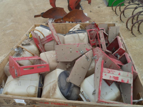 Insecticide Boxes Off Case Planter