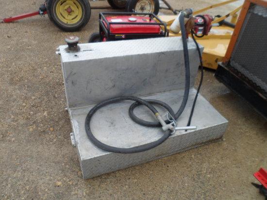Alum Fuel Tank 95 Gal. w/Pump